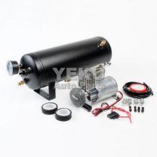 汽车改装气泵 1.5加仑/1.5gal气罐 12V车载充气泵150psi