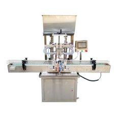 全自动双头液体灌装机小型定量 洗洁精洗衣液灌装机