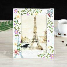 DIY纸质照片相框 彩色相框 方形纸质相框