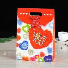 创意彩色礼品包装纸袋 礼品手提纸袋 牛皮纸袋