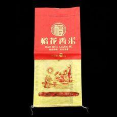 10公斤大米袋 彩印编织袋 PP编织袋 稻花香米