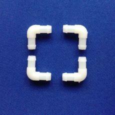 按摩椅用尼龙8mm气油水族塑料软管L型小弯通接头