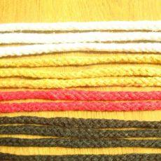 棉纱八股手提绳 打头织带 喜糖盒蛋糕装饰礼品袋专用手挽绳