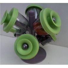 树枝造型苹果调味盒 6件套调味罐 6PCS 调味罐