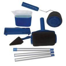 油漆滚筒刷家用手把油漆刷套装多功能