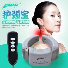 颈椎按摩仪器颈椎按摩器颈部家用数码经络按摩仪热敷电池719