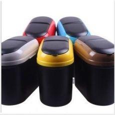 b汽车垃圾盒(盒装) 车用垃圾桶 汽车用品 置物盒 时尚便捷收纳