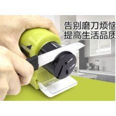 厨房电动磨刀器 多功能快速磨刀石砂轮机 磨剪刀菜刀工具 249g