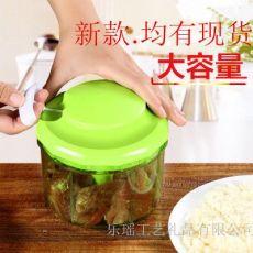多功能手动切菜器手动碎肉器 家用绞肉机蔬菜绞菜器多功能绞碎器