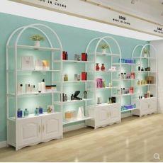 化妆品货架展示架产品柜展示柜陈列柜包包柜置物架多功能自由组合