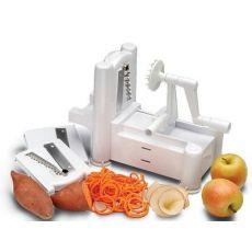 多功能切菜机 手摇推进式切菜器