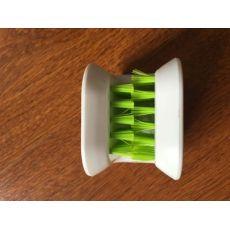 厨房清洁用品筷子刀叉刷U型清洗护手刷双面清洁刷