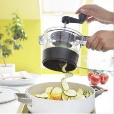 手摇切菜器刨丝器切片多功能旋转切菜机