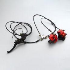 摩托车 电动车 电瓶车 厂家直销一拖二 大凌鹰上泵 珠峰五羊下泵