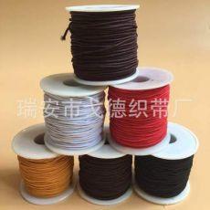 0.8-1.5mm彩色穿珠线佛主线文玩工艺品松紧带包芯弹力绳
