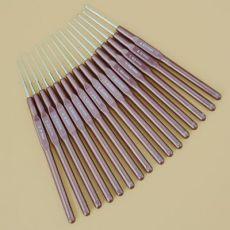 编织工具毛衣针细号蕾丝钩针一套16只全套袋装0.5-2.5MM