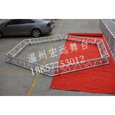 健身馆搭建吊顶桁架 铝合金桁架 可挂灯三角桁架