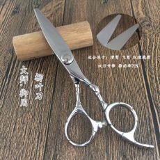 美发剪刀柳叶剪滑剪飞剪理发剪刀平剪发型师剪刀纹理剪刀