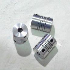 直径长度D19L25编码器铝合金弹性联轴器绕线连轴DIY步进电机伺服