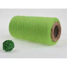 8~16支苹果绿再生棉纱线,各色涤棉合股纱线
