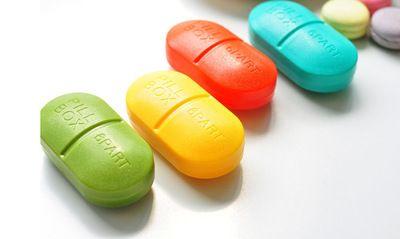 创意个性六格药盒 方便便携一周药盒 医用药盒 塑料分装