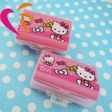KT猫塑料药盒 办公室 常备迷你塑料小药盒
