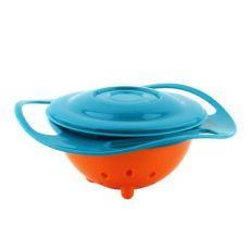 旋转陀螺碗飞碟碗陀螺碗玩具碗飞碟碗不撒不倒碗儿童碗