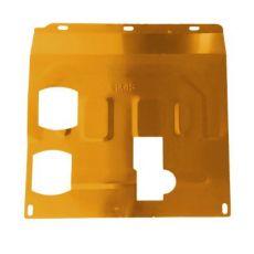 3D锰钢钛合金下护板 铝合金汽车发动机下护板