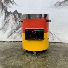 燃气立式炒板栗机商用炒干货机炒栗子机圆桶立式炒货机