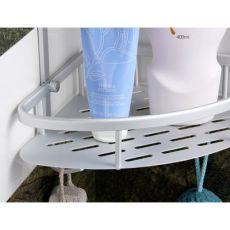 浴室置物架太空铝卫生间置物篮壁挂收纳厕所三角架挂件