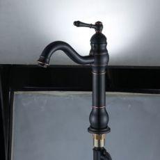 304不锈钢厨房水龙头 冷热旋转水槽洗菜盆 不锈钢水龙头