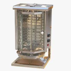 土耳其烤肉机商用 自动电热旋转式巴西烤肉炉 拌饭肉夹馍机