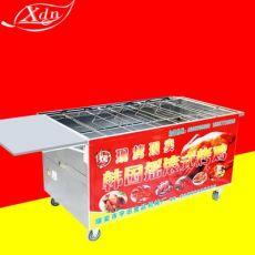 木炭越南摇滚烤鸡炉旋转自动韩国摇摆车烤鸭炉烤箱商用